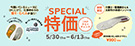 SPECIAL特価5/16-5/29