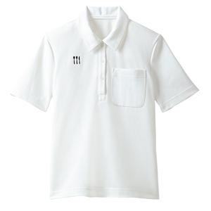 4K28001栗原はるみ×キラク/レディス介護用ニットシャツ(E100)[ホワイト]