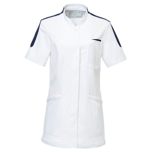 CM027理学療法士・作業療法士専用白衣レディスチュニックE100[ホワイト]