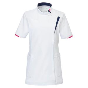 CM031理学療法士・作業療法士専用白衣レディスチュニック(ケーシー)E100[ホワイト]