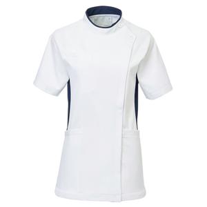 CM032理学療法士・作業療法士専用白衣レディスチュニック(ケーシー)E100[ホワイト]