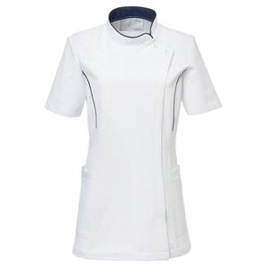 CM033理学療法士・作業療法士専用白衣レディスチュニック(ケーシー)E100[ホワイト]