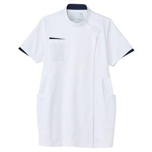 CM051理学療法士・作業療法士専用白衣マタニティケーシーE100[ホワイト]