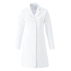CM700調剤薬局衣WECURE薬剤師レディースコートE100[ホワイト]