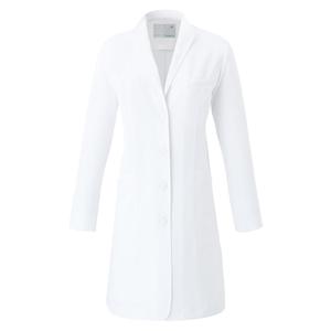 CM706調剤薬局衣WECURE薬剤師イタリアンカラーレディスコートE100[ホワイト]