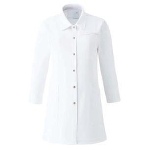 CM781調剤薬局衣WECURE薬剤師レディースチュニック七分袖シャツE100[ホワイト]