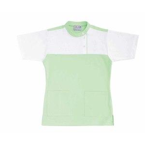 CR085介護看護PTOT向けレディスケアワークシャツ(E95C5)[グリーン]