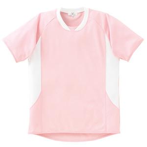 介護用撥水入浴介助用シャツ男女兼用(E100)[ピンク]