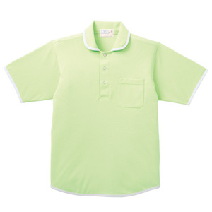 バインダー介護用ニットシャツ男女兼用(E95・C5)[ライム]