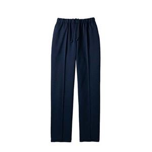 裾上げがいらない動きやすい介護用スレンダーパンツ男女兼用(E100)[ネイビー]