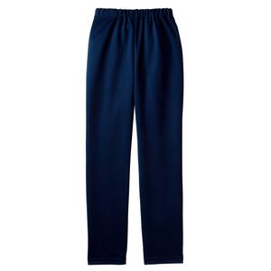 裾上げ不要すっきりシルエット介護用スレンダーパンツ(E100%)[ネイビー]