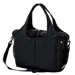 CR652ポケットいっぱい自立する大容量訪問バッグ(N100)[ブラック]