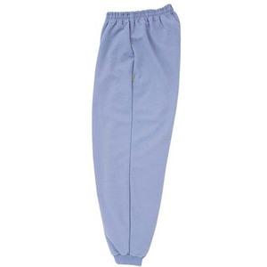 CR855ゆったりサイズ!裾フライス絞りらくらくパンツ男女兼用(E85C15)[ラベンダー]