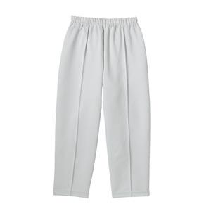 夏用軽量らくらく八分丈パンツ高齢者用(E100)[グレー]