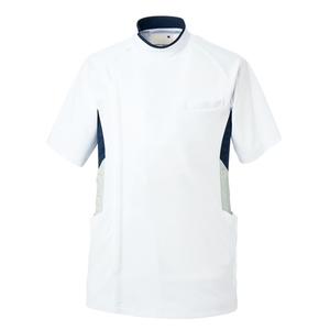 CY850/YONEX×キラク/スーパーストレッチメンズジャケット(ケーシー)E100[ホワイト]